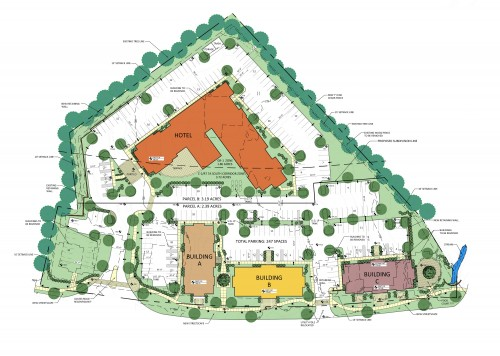 High Ridge Site Plan, Manchester VT